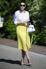 White-asos-bag-dark-brown-vivienne-westwood-sunglasses-blue-zara-sandals