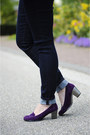 Purple-asos-pumps-navy-skinny-esprit-jeans-deep-purple-diy-jacket