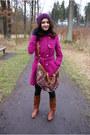 Hot-pink-gate-coat