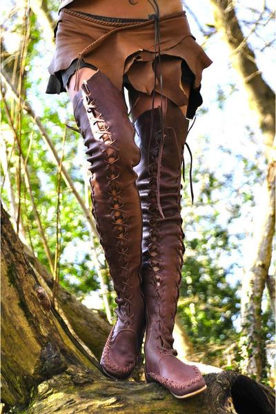 dark brown gipsydharma boots
