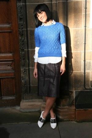 purple vintage skirt
