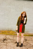 red Francescas Collections skirt