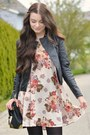 Black-new-look-boots-beige-brandy-melville-dress-black-new-look-jacket