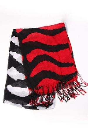 red Send the Trend scarf