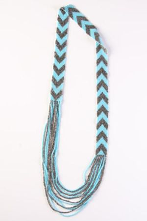 blue Send the Trend necklace