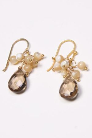brown Send the Trend earrings