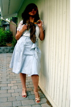 scarf - Nick & Mo blouse - H&M skirt - Etsy shoes