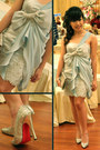Light-blue-silk-prisca-jessie-couture-dress-silver-silver-christian-loubouti