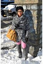 black Dollhouse coat - camel Michael Kors bag