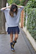 eseoese dress - Zara sweater