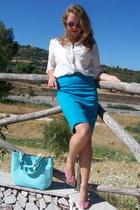 periwinkle Miss Sixty heels