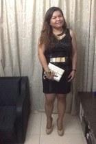 studded Dunnes dress - beasst heels Steve Madden heels