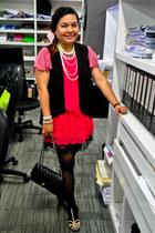 medium flap Chanel bag - Zara flats