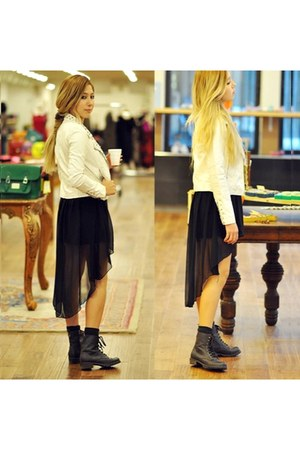 goldie jacket - Lebunnybleu boots - goldie skirt