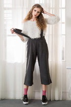 silver shalex sweater - gray shalex pants