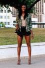 Army-forever-21-jacket-black-charles-keith-bag-black-forever-21-skirt