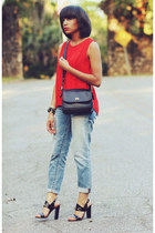 Gap jeans - Zara top