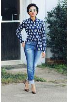 madewell jeans - J Crew shirt