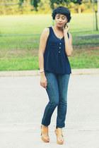 Forever 21 shirt - Frankie B jeans