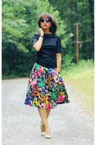 J Crew skirt - Gap top