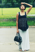 BCBG skirt - BCBG t-shirt