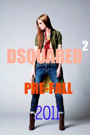 dark green Dsquared2 jacket