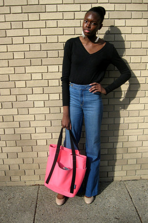 blue wide leg Radcliffe Jeans jeans - neutral Payless shoes