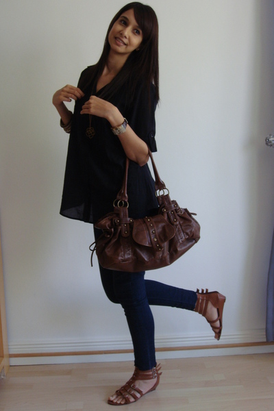 Mr Price shirt - Mr Price leggings - Mr Price shoes - Woolworths purse - DKNY ac