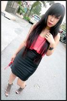 Forever21 blouse - brandless skirt