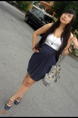 Topshop skirt - Charles & Keith shoes