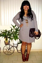 Jeffrey Campbell shoes - free people dress - volcom bag - Forever 21 necklace