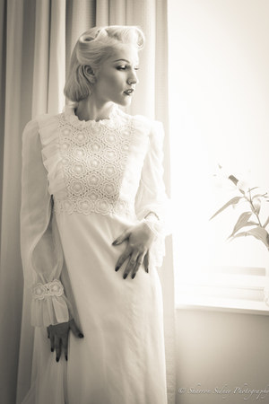 Vintage wedding dress dress