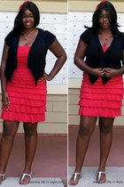 red New York & Company dress