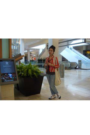 Luella for Target blazer - Forever21 jeans - Forever21 t-shirt - Steve Madden sh