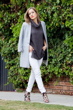 Zara jeans - Lioness coat - Zara heels