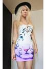 Silver-h-m-accessories-tan-snake-details-topshop-boots-violet-ebay-dress