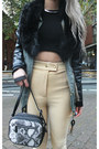 Office-boots-leather-arm-topshop-jacket-urban-outfitters-bag