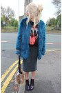 Crimson-office-boots-teal-fur-topshop-coat-black-fangs-unknown-top