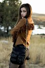 Black-h-m-boots-brown-fringe-the-mint-julep-boutique-jacket
