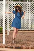 camel Lack of color hat - blue Adidas NEO Label dress