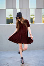 Black-urban-outfitters-shoes-crimson-urban-outfitters-dress