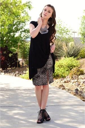 beige leopard print ashleylanecompanycom skirt