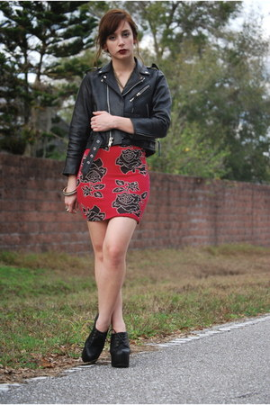 black moto jacket Vintage by Shevahh jacket