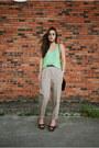 Black-vintage-bag-chartreuse-h-m-top-tan-vintage-pants
