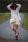 Brown-jeffrey-campbell-boots-peach-h-m-dress