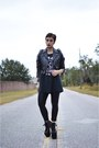 Motorcycle-vacant-moon-vintage-jacket-hellbounds-unif-heels