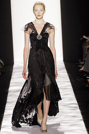 Badgley Mischka--Runway dress