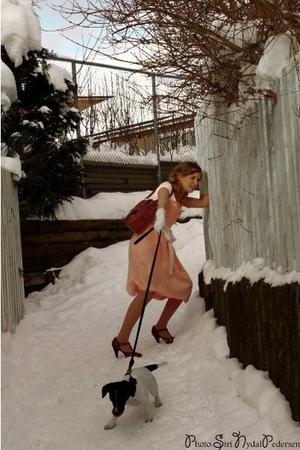 dress - dress - top - jessica simson shoes - H&M shoes