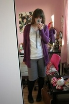 Sid  Mallory t-shirt - Topshop jacket - H&M shorts - Schuh shoes