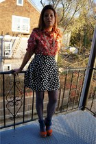Forever21 necklace - Jeffrey Campbell shoes - H&M dress - Me moi tights